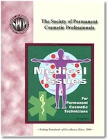 3rd Ed. SPCP Medical Issues for Permanent Cosmetic Technicians